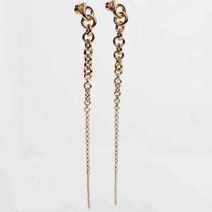 Michael Kors Simple Chain Stud Earrings
